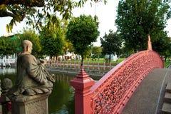 μαρμάρινος ναός κήπων Στοκ φωτογραφίες με δικαίωμα ελεύθερης χρήσης