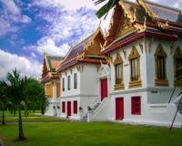 Μαρμάρινος ναός Μπανγκόκ - Wat Benchamabophit Στοκ εικόνα με δικαίωμα ελεύθερης χρήσης