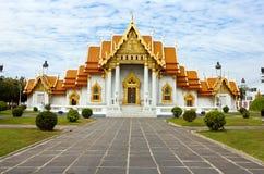 μαρμάρινος ναός Ταϊλάνδη τη&sigma Στοκ Φωτογραφίες