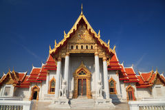 μαρμάρινος ναός Ταϊλάνδη τη&sigma Στοκ εικόνα με δικαίωμα ελεύθερης χρήσης