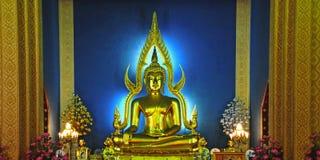 μαρμάρινος ναός Ταϊλάνδη τη&sigma Στοκ φωτογραφίες με δικαίωμα ελεύθερης χρήσης