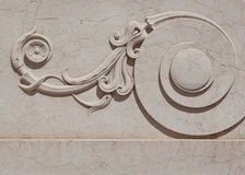 μαρμάρινος περίκομψος κύ&lambd στοκ φωτογραφία με δικαίωμα ελεύθερης χρήσης