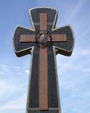 Μαρμάρινος σταυρός Στοκ φωτογραφία με δικαίωμα ελεύθερης χρήσης