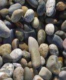 μαρμάρινος τοίχος πετρών γρανίτη κινηματογραφήσεων σε πρώτο πλάνο Στοκ Εικόνες