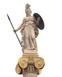 μαρμάρινο άγαλμα Αθηνάς Στοκ φωτογραφία με δικαίωμα ελεύθερης χρήσης