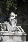 Μαρμάρινο άγαλμα ενός merman στοκ φωτογραφία