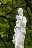 Μαρμάρινο άγαλμα της ελληνικής θεάς Hera ή Στοκ εικόνα με δικαίωμα ελεύθερης χρήσης
