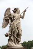Μαρμάρινο άγαλμα του αγγέλου από τη γέφυρα Sant ` Angelo στη Ρώμη, Στοκ Εικόνες