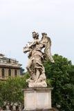 Μαρμάρινο άγαλμα του αγγέλου από τη γέφυρα Sant ` Angelo στη Ρώμη, Στοκ φωτογραφίες με δικαίωμα ελεύθερης χρήσης