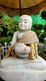 Μαρμάρινο άγαλμα του Βούδα Στοκ Φωτογραφίες