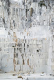 Μαρμάρινο λατομείο Carraran Στοκ Εικόνα