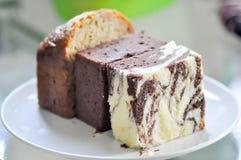 Μαρμάρινο κέικ Στοκ εικόνες με δικαίωμα ελεύθερης χρήσης