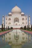 Μαρμάρινο μαυσωλείο Mahal Taj σε Agra, Ινδία Στοκ εικόνα με δικαίωμα ελεύθερης χρήσης