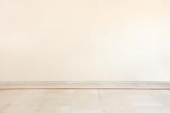 Μαρμάρινο πάτωμα στο κενό δωμάτιο Στοκ φωτογραφία με δικαίωμα ελεύθερης χρήσης