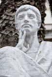 Μαρμάρινο ρωμαϊκό άγαλμα Στοκ Εικόνες