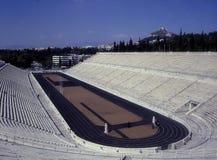μαρμάρινο στάδιο της Αθήνα&si Στοκ εικόνα με δικαίωμα ελεύθερης χρήσης