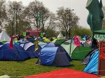 Μαρμάρινο στρατόπεδο κλίματος αψίδων στοκ φωτογραφία με δικαίωμα ελεύθερης χρήσης