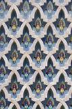 Μαρμάρινο σχέδιο Hassan ΙΙ μουσουλμανικό τέμενος, Καζαμπλάνκα στοκ εικόνα με δικαίωμα ελεύθερης χρήσης