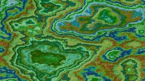 Μαρμάρινο υπόβαθρο σχεδίων αχατών πετρώδες άνευ ραφής - πράσινο χακί μπλε χρώμα με την τραχιά επιφάνεια διανυσματική απεικόνιση