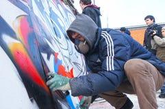 μαρμελάδα γκράφιτι Στοκ φωτογραφίες με δικαίωμα ελεύθερης χρήσης
