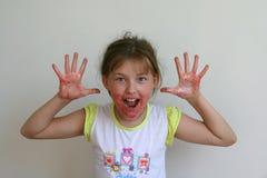 μαρμελάδα κοριτσιών Στοκ Φωτογραφίες