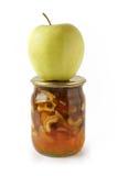 μαρμελάδα μήλων Στοκ φωτογραφία με δικαίωμα ελεύθερης χρήσης