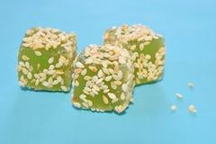 Μαρμελάδα με τους σπόρους σουσαμιού Στοκ Εικόνες