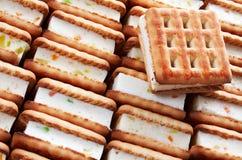 μαρμελάδα μπισκότων Στοκ φωτογραφία με δικαίωμα ελεύθερης χρήσης