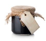 Μαρμελάδα σε ένα βάζο στοκ φωτογραφίες με δικαίωμα ελεύθερης χρήσης