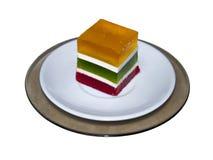 Μαρμελάδα στο πιάτο Στοκ Εικόνα