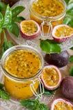 Μαρμελάδα Passionfruit Στοκ Εικόνες