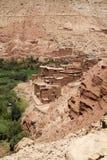Μαροκινά σπίτια Στοκ εικόνα με δικαίωμα ελεύθερης χρήσης