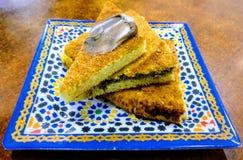 Μαροκινά τρόφιμα στοκ φωτογραφίες