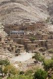 Μαροκινά χαρακτηριστικά σπίτια Στοκ φωτογραφία με δικαίωμα ελεύθερης χρήσης