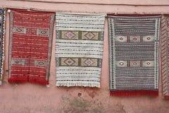 Μαροκινές κουβέρτες Στοκ Φωτογραφία