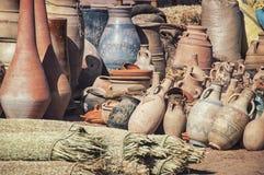 Μαροκινή αγορά οδών Στοκ Εικόνα