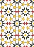 Μαροκινή διακόσμηση μωσαϊκών ύφους Στοκ Φωτογραφίες