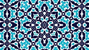 μαροκινή διακόσμηση Σκούρο μπλε και μπλε στοιχεία ελεύθερη απεικόνιση δικαιώματος