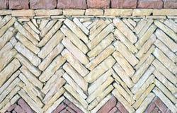 Μαροκινή διακόσμηση πετρών, υπόβαθρο Στοκ Φωτογραφίες