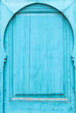 Μαροκινή παραδοσιακή πόρτα Στοκ Εικόνα
