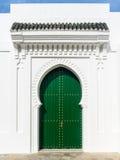 Μαροκινή πόρτα Στοκ Φωτογραφίες