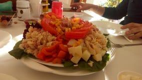 μαροκινή σαλάτα στοκ εικόνες