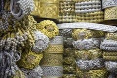 Μαροκινή τέχνη στην αγορά Στοκ Φωτογραφία