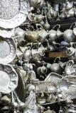 Μαροκινή τέχνη στην αγορά Στοκ Εικόνα