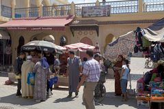 Μαροκινοί λαοί Στοκ εικόνες με δικαίωμα ελεύθερης χρήσης