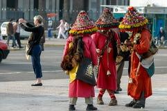Μαροκινοί πωλητές νερού Στοκ Φωτογραφία