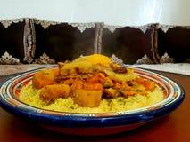 Μαροκινό κουσκούς στοκ φωτογραφία