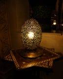 Μαροκινός παραδοσιακός λαμπτήρας ύφους στοκ εικόνες