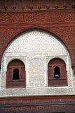 μαροκινός παλαιός τοίχος μέσα Στοκ Εικόνες