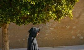 Μαροκινός στα εθνικά ενδύματα Στοκ Φωτογραφία